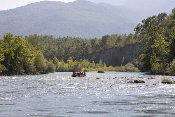 rio para hacer rafting
