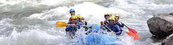 Hacer rafting en Cataluña
